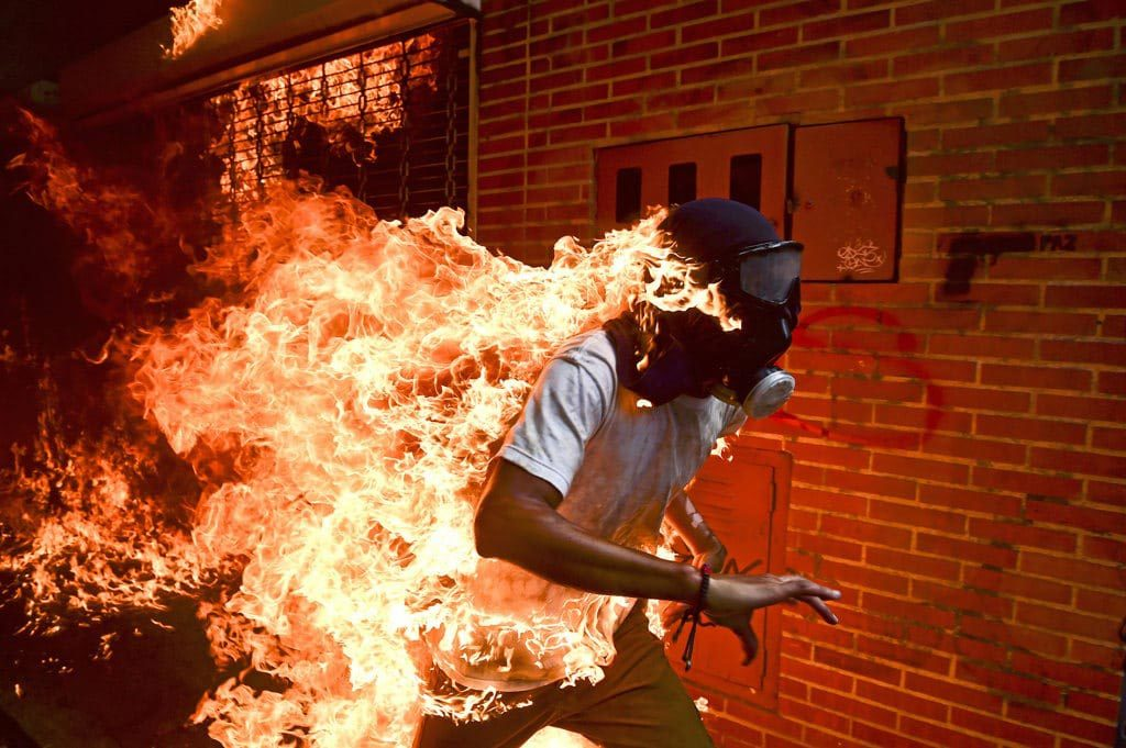 Jose Victor Salazar Balza, World Press Photo