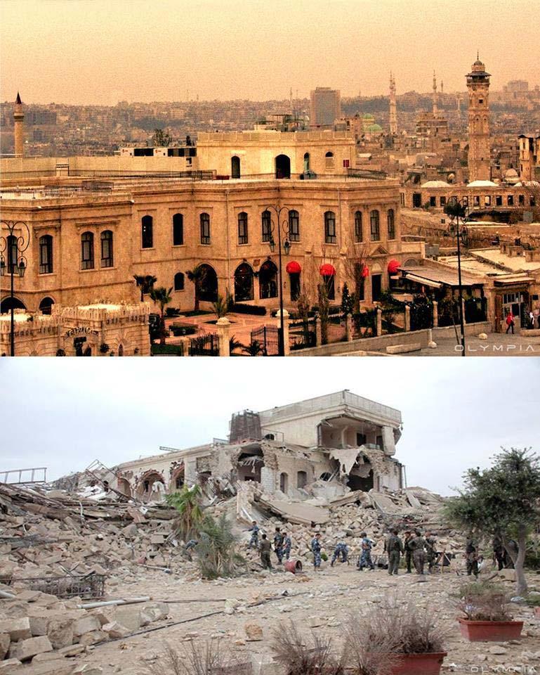 Carlton Hotel di fronte al Aleppo