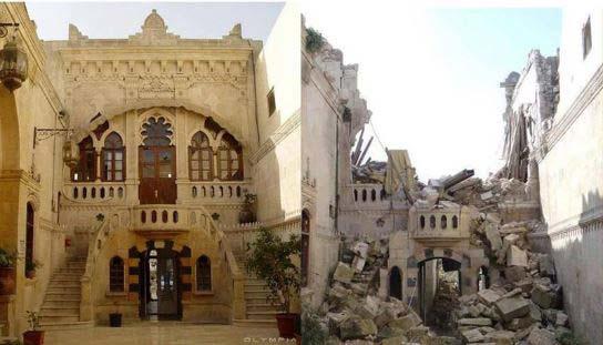 Foto Siria prima e dopo la guerra