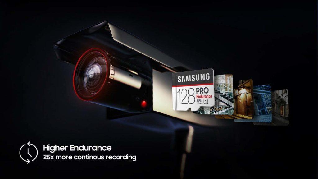 Samsung Pro Endurance microsd registrazioni continue