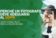 Perché un fotografo deve adeguarsi al GDPR