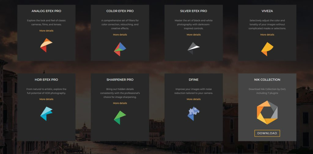 I plugin aggiornati di Nik Collection