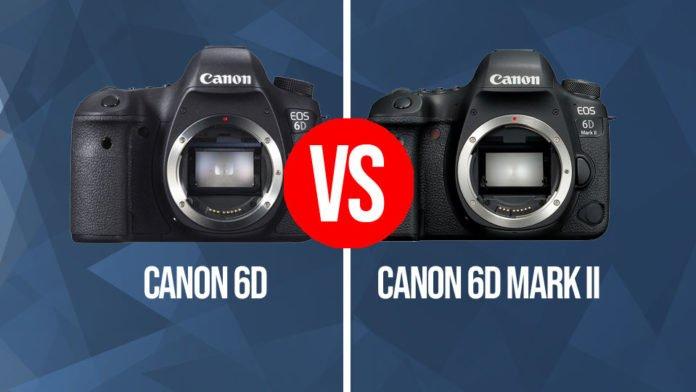 Il confronto tra la Canon EOS 6D e la Canon EOS 6D Mark II