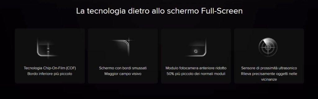 Caratteristiche schermo Full Screen dello Xiaomi Mi Mix 2