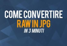 Come convertire file Raw in jpg