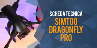 Scheda tecnica del drone Simtoo Dragonfly Pro