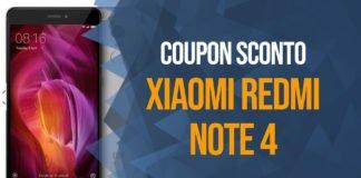 Sconto Xiaomi Redmi Note 4 Coupon