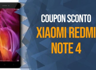 Sconto Xiaomi Redmi Note 4 Coupon