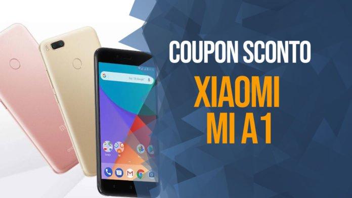Xiaomi Mi A1 Coupon, sconto su Banggood