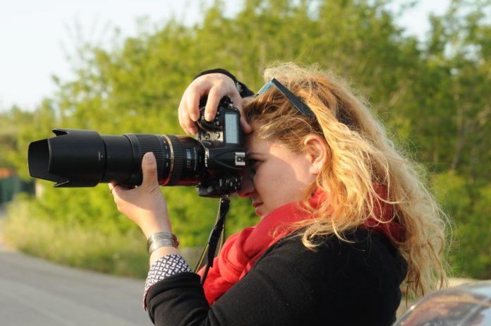 La fotografa Elisabetta Pandolfino
