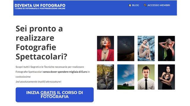 Siti di fotografia: Diventa un fotografo