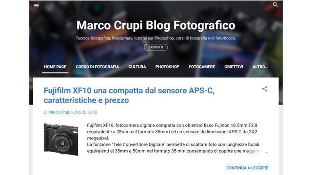 Siti di fotografia: Marco Crupi