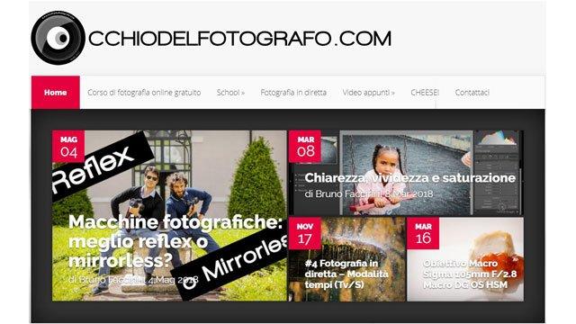Siti di fotografia: Occhio del fotografo