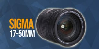Caratteristiche e scheda tecnica del Sigma 17-50 mm