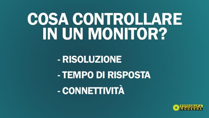 Cosa controllare quando si acquista un monitor