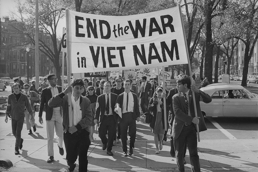 Manifestazioni di protesta contro la guerra in Vietnam