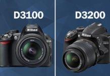 Nikon D3100 Vs D3200
