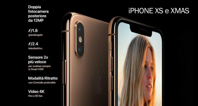 Le novità presentate dell'iPhone XS e XMAS