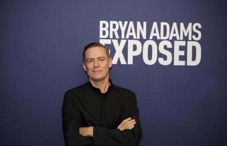 """Bryan Adams, i suoi lavori sono stati raccolti nel libro """"Exposed"""""""