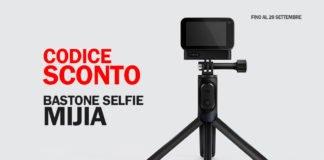codice sconto bastone selfie mijia