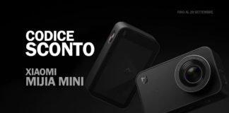 Codice sconto Xiaomi Mijia Mini