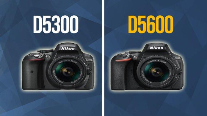 Confronto tra Nikon D5300 vs D5600