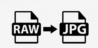 Convertire file RAW in Jpg