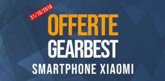 Offerte Gearbest Xiaomi Smartphone 31/10/2018