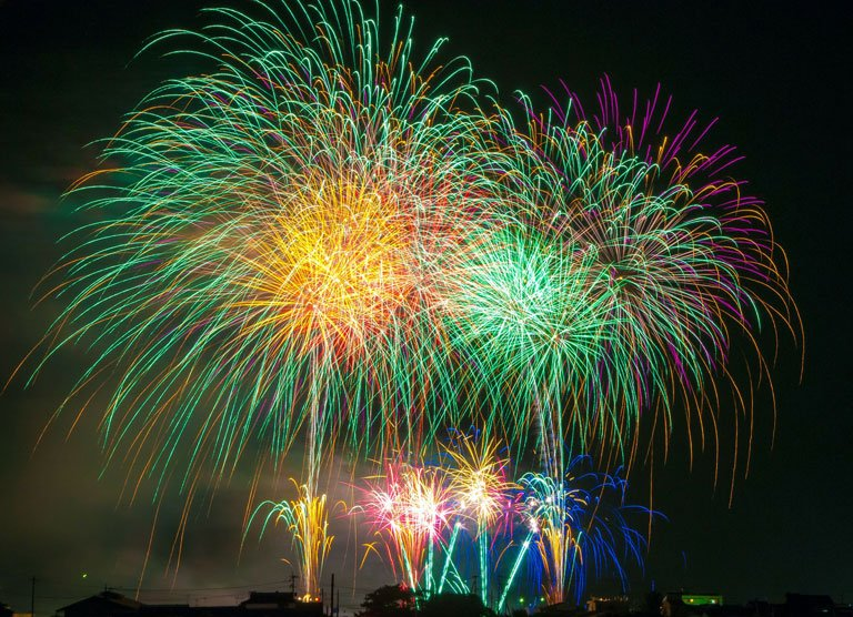 Come fotografare i fuochi d'artificio