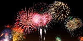 Foto ai fuochi d'artificio