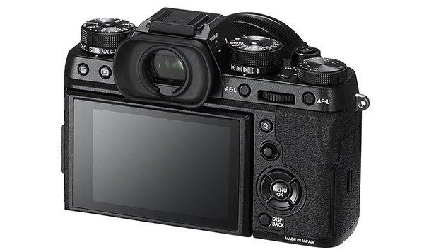 Schermo della Fujifilm X-T2