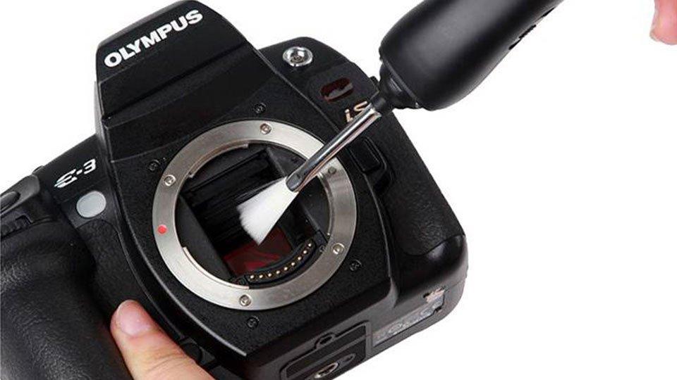 Pulizia sensore fotocamera