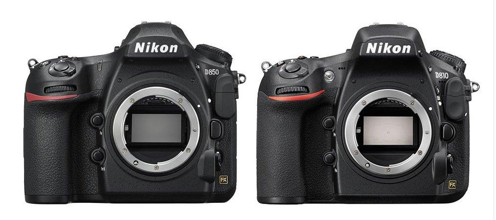 Nikon D850 vs D810