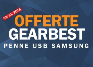 Offerta gearbest di oggi: Penne Usb Samsung