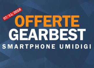 Smartphone Umidigi in offerta su Gearbest