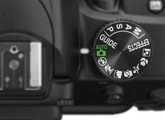 Modalità di scatto della fotocamera