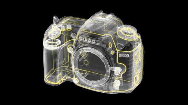 Materiali della Nikon D7200