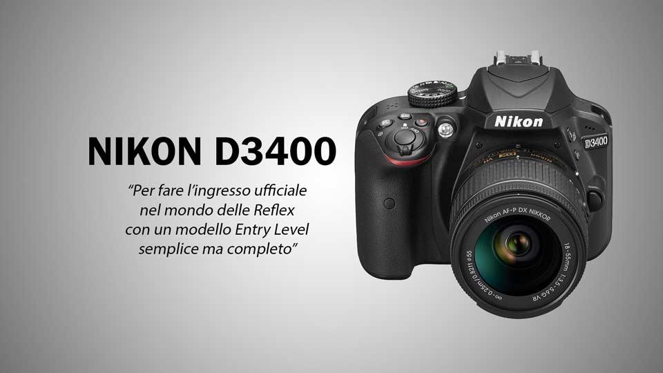 Migliore macchina fotografica Nikon D3400