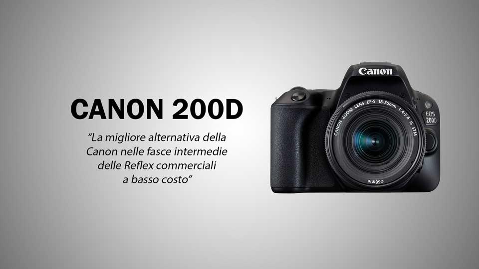 Migliori Macchine fotografiche Canon 200D