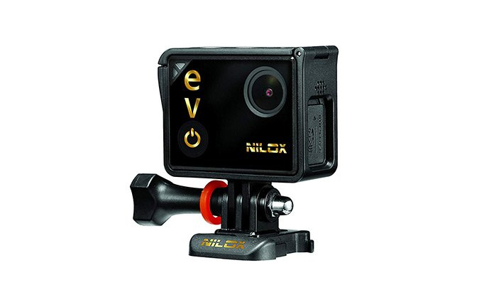 L'action cam Nilox 4k riprende fino a 30fps