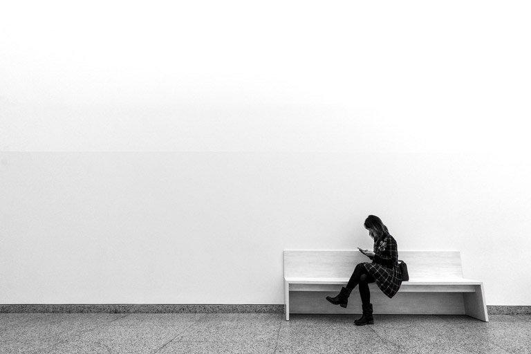 Attrezzatura per la fotografia minimalista
