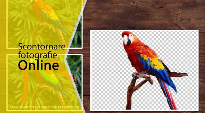 Come scontornare foto online
