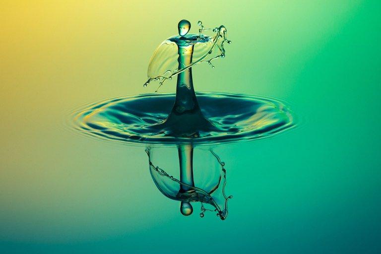 Cosa significa effetto Water Drop nelle foto