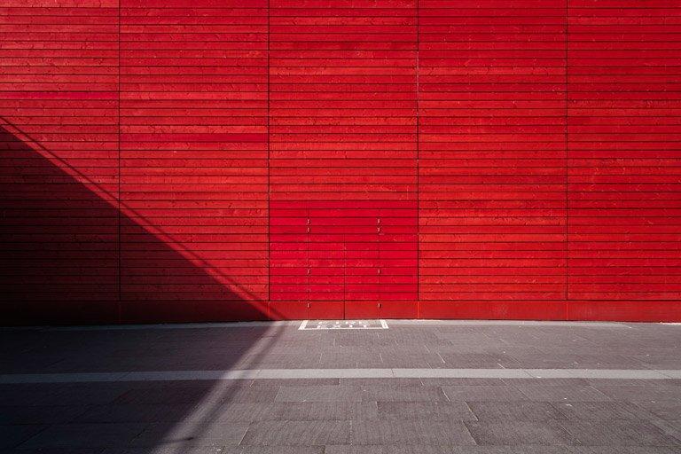 Esempio di una foto minimalista