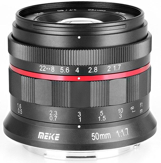 Il nuovo obiettivo della Meike 50mm F1.7 per le Nikon Z-Mount