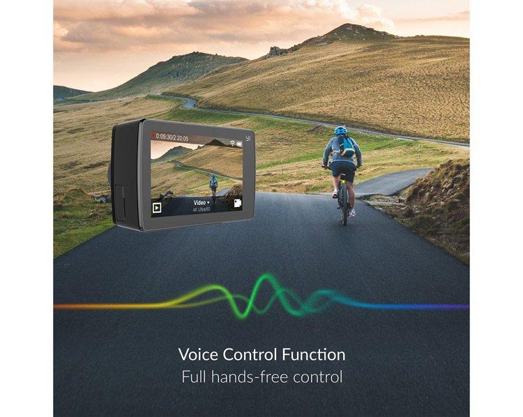 Controllo vocale della Xiaomi Yi 4k