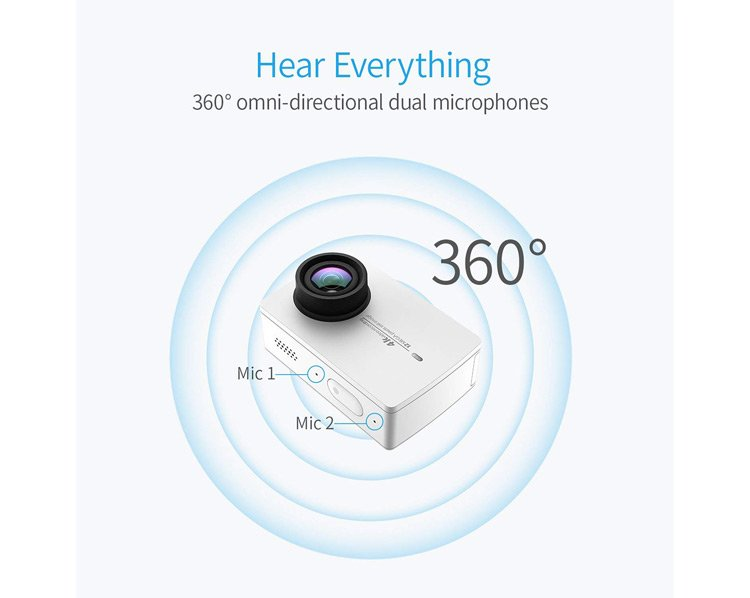 Microfono dell'action cam Xiaomi