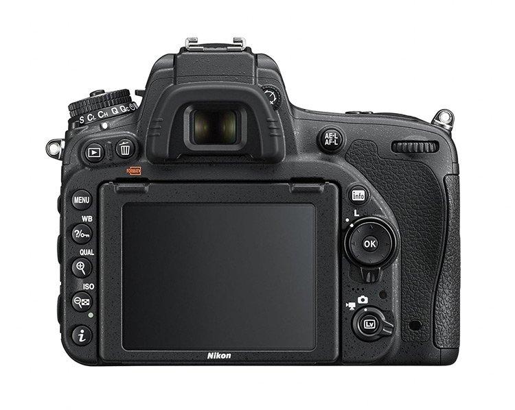 Schermo LCD inclinabile della Nikon D750