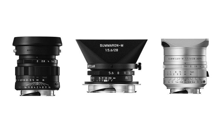 Nuovi obiettivi in edizione limitata della Leica