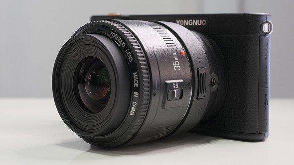La nuova mirrorless Yongnuo YN450